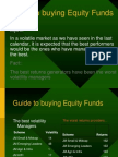 Guide to Buying Equity Funds