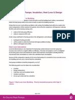 Insulation, Heat Loss & Design Principles