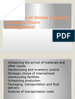 Overview of Global Logistics & SCM