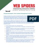 Drupal Developers' Own Content Management System