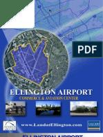 Ellington Aviation Center Listing Flyer