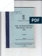 The Bombay Treasury Rules 1968 Dated 14032012