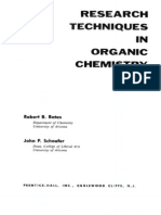 Research Techniques in Organic Chemistry