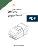 Impresora Ticketera