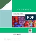 Adumadan Catalog