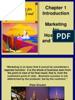 Marketing for Tourism and Hospitality ch01