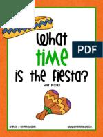 Cinco de Mayo Clock Activity Hour