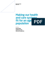 'Making Health Care Systems Fit Ageing Population' by The King's Fund