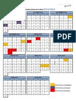 calendario escolar 2013_14