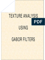 Good Lecture about Gabor Filter