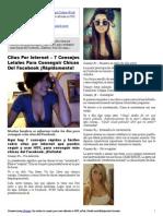 7 Consejos Letales Para Conseguir Chicas Del Facebook ¡Rápidamente!