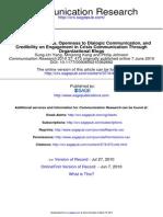 Communication Research 2010 Yang 473 97