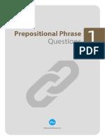 Prepositional Phrase Sorulari 1
