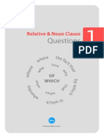 Relative Noun Clause Sorulari 1