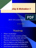 IU BUS 325 ED Leadership and Motivation Ppt 1