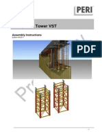 VARIOKIT Heavy Duty Tower VST Assembly Instructions