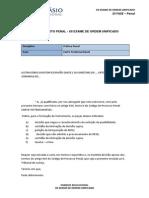 Modelo de Carta Testemunhável