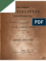 Kerékgyártó Árpád - Magyarország mivelődésének története 1.rész,1859.