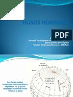 Presentación3 - TERCER clase HUSOS HORARIOS