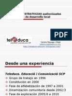Tácticas y estrategias av participativas de desarrollo local_Teleduca