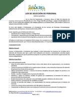 DOXA Taller Seleccion de Personal 2014