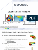 COMSOL Equation Based Modeling 4.3b