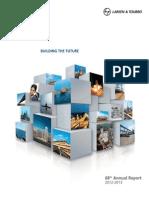 L&T Annual Report 2012-13