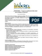 Programa Curso Psic Organizacional - 2013 (Ultimo)