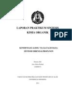 11. Kondensasi Aldol Via Katalis Basa - Sintesis Dibenzalpropanon.pdf