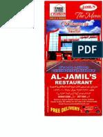 Jamil Restaurant (Menu 6)