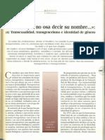 el amor que no osa decir su nombre - trensexualidad, trnasgenerismo.pdf