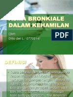 Asma Bronkiale Dalam Kehamilan