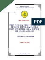 Phan Tich Quy Trinh Tham Dinh Tin Dung Trung Dai Han Tai Ngan Hang Tmcp Ngoai Thuong Chi Nhanh an Giang