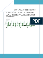 aaa model  radius and tacacs servers lesson full illustration