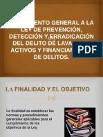 REGLAMENTO GENERAL A LA LEY DE PREVENCIÓN