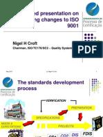 Nigel Breve Situacao Da Revisao Da ISO9001