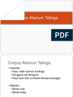 Corpus Alienum Telinga.ppt