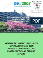 The Availability of Natural Gas Reserves for Automotive Fuel - Presentation