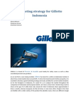 Marketing Strategy for Gillette Indonesia