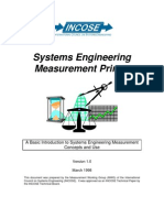 Systems Engineering Measurement Primer