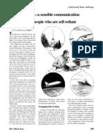 Amateur Radio--A Sensible Communication Alternative for Peopl