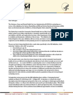 SED Letter to Collaborators