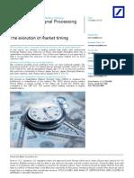 DB QUANT Market Timing