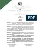 LEY XII - 27 CÓDIGO PROCESAL CIVIL, COMERCIAL, DE FAMILIA Y VIOLENCIA FAMILIAR