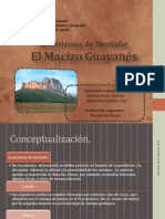 Ecosistemas de Montañam