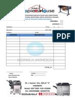 cotizacion copiershouse