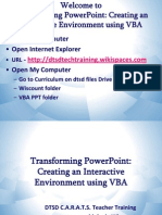 Transforming PowerPoint