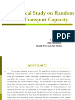 Random Access Transport Capacity