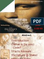 Debunking Davinci Code by rbjj