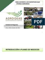 Incentivos de AGROIDEAS